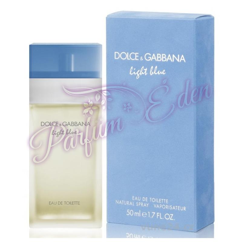 dolce gabbana light blue parf m n knek 50 ml. Black Bedroom Furniture Sets. Home Design Ideas
