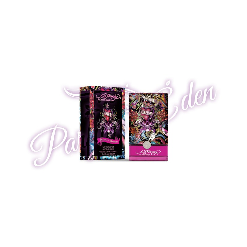 Hearts And Daggers By Ed Hardy For Women: Ed Hardy Hearts And Daggers Women Parfüm Nőknek 100 Ml
