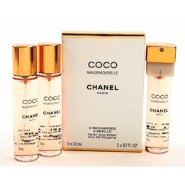 Chanel Coco Mademoiselle 3 x 20 ml